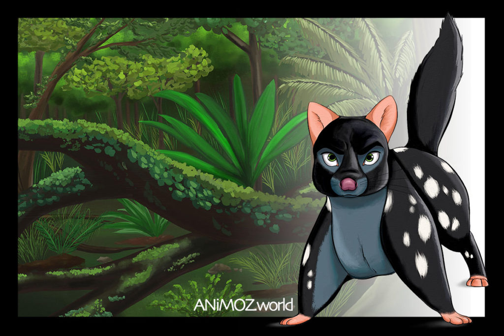 RiNU - ANiMOZ - Fight for Survival - Australian animals - Animal Cartoon