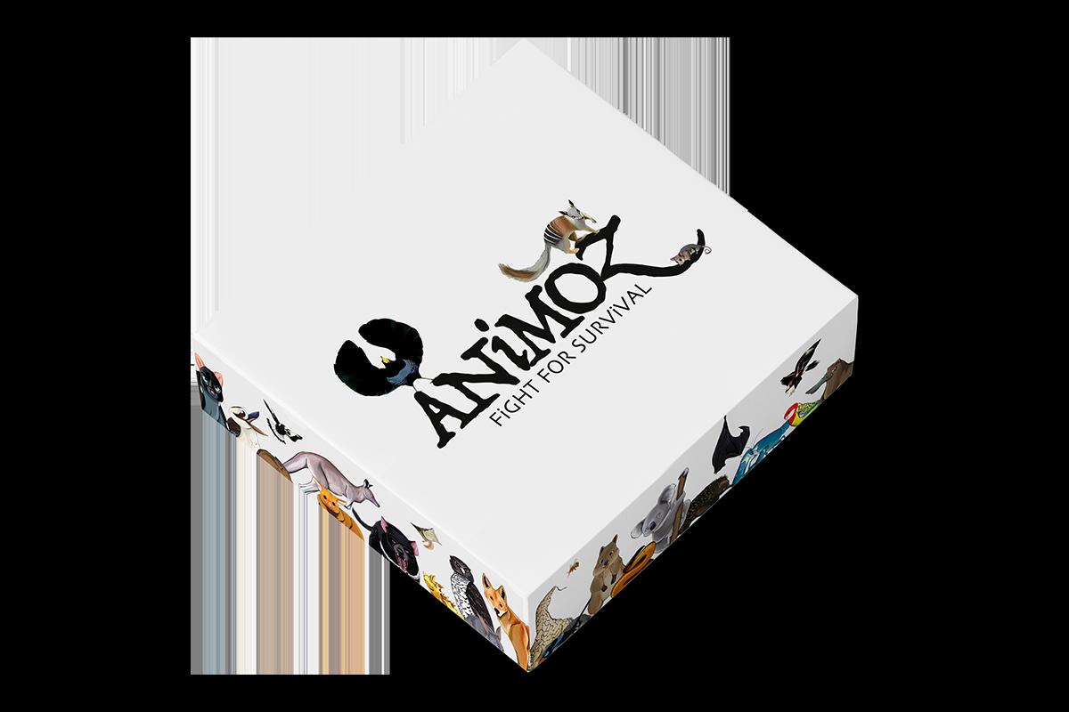 ANiMOZ - Fight for Survival - Starter Pack - Australian animals - Card game - Pre-order