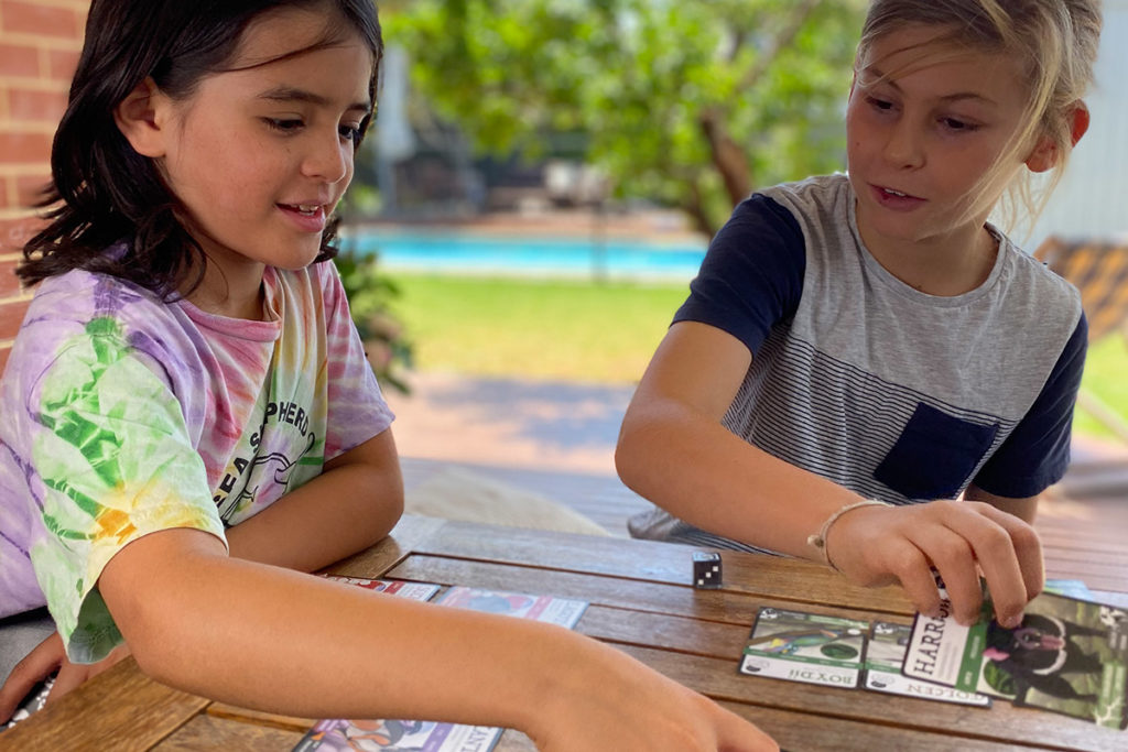 Keep Kids Entertained, ANiMOZ, Card Game, Education, Off-Screen, Australian Animals
