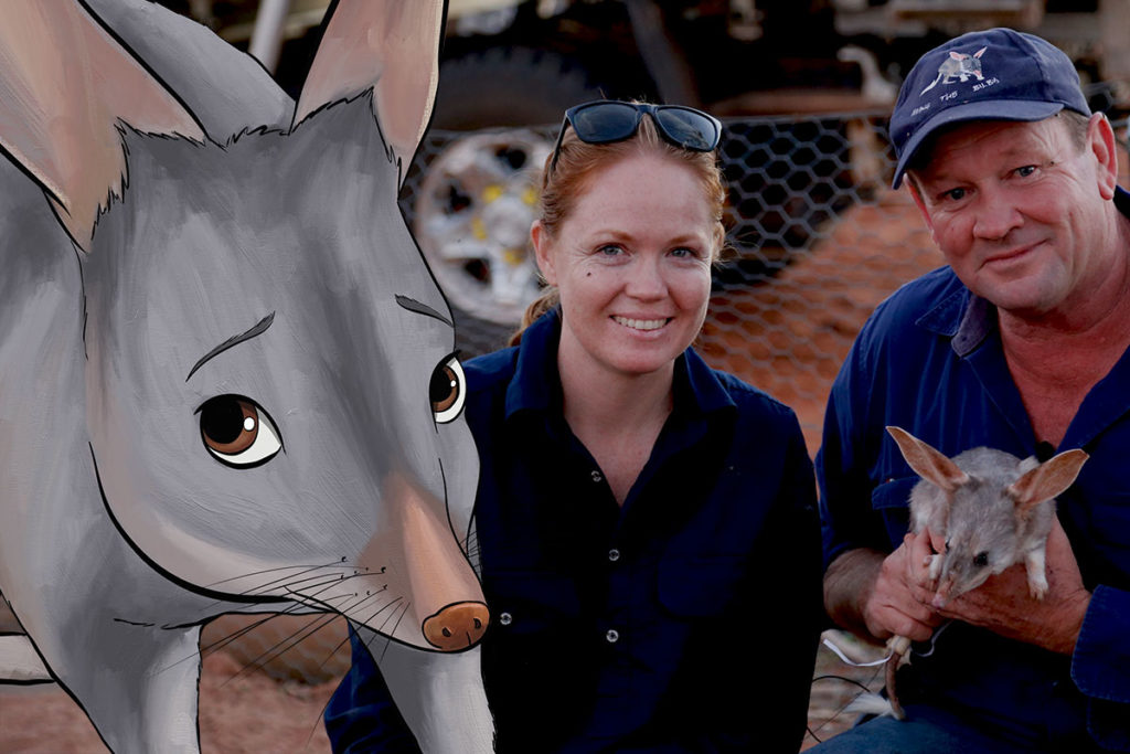 From the Field - ANiMOZ - Fight for Survival - Cassandra Arkinstall - University of Queensland - LAGOTi - Bilby Researcher Interview - Australian animal conservation - 0