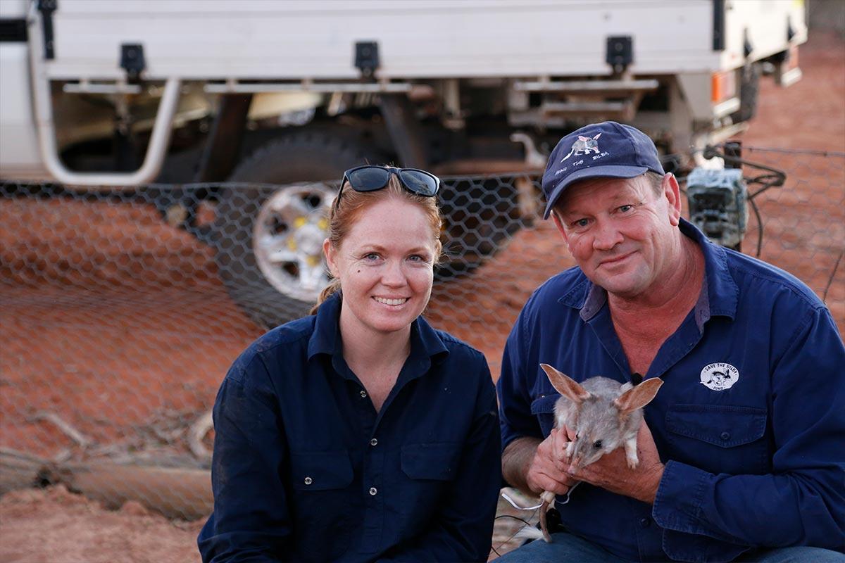 From the Field - ANiMOZ - Fight for Survival - Cassandra Arkinstall - University of Queensland - LAGOTi - Bilby Researcher Interview - Australian animal conservation - 2